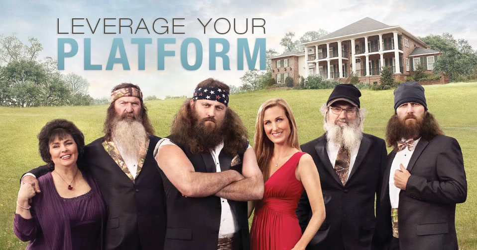Leverage Your Platform With Willie Robertson