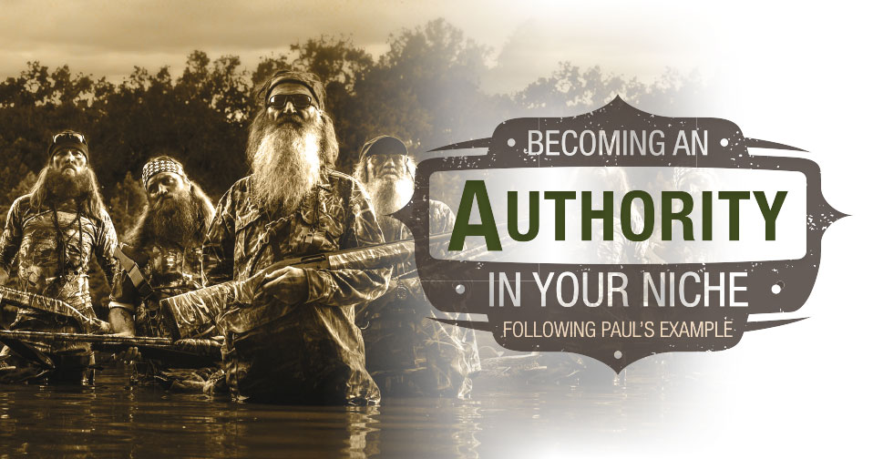 Becoming an Authority in Your Niche